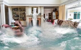 Maison inondée à Paris